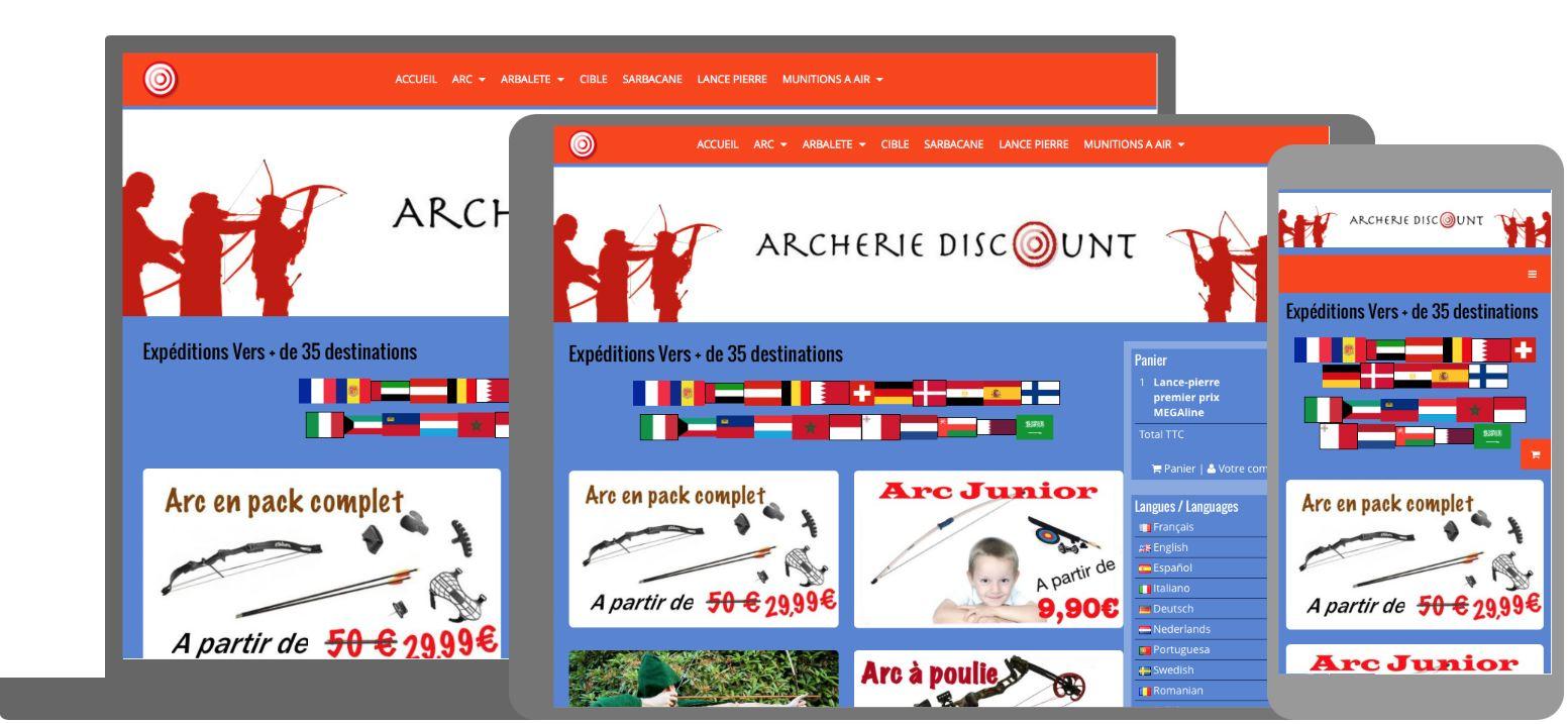 Archerie discount responsive 1