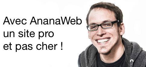 Anaanweb cre ation de site