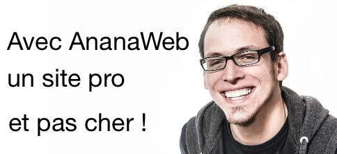 Ananweb cre ation de site